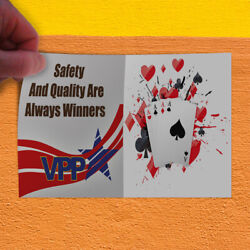 Decal Sticker Safety And Quality Are Always Winners Safety Outdoor Store Sign