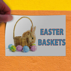 Decal Sticker Easter Baskets #1 Holidays and Occasions Easter Season Store Sign