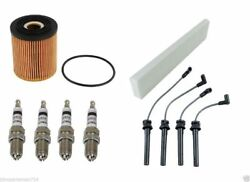 2002-2006 Mini Cooper S John Works Tune Up Kit Wire Spark Plug Oil Air Filter