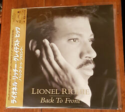 Lionel Richie - Back To Front 1992 Polygram Japan Print Obi Olympics Commodores