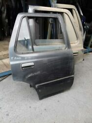 Toyota Hilux Surf N120 N130 Sw4 5drs Wagon 1990 95 Rear Right Bare Empty Door