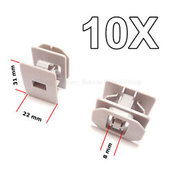 10X  Rocker Panel Moulding Clips, Retainer for Ford 6G1Z-5410182-A