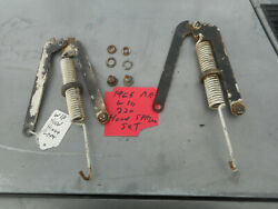 Mercedes Benz W111 W110 W112 Hood Hinge Spring Set +bolts Engine Support Fintail