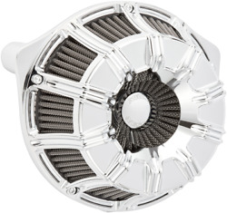 Arlen Ness Inverted Series V-twin Air Cleaner Chrome 10-gauge 18-946 Usa Made