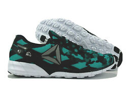 Reebok The Pump Sneakers Camo Green Black Shoes Womenand039s Us 11 - Rare