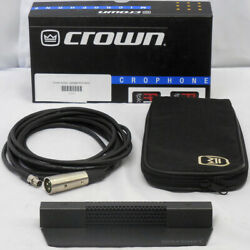 Crown PCC-160 Boundary Layer Microphone in MINT CONDITION PCC160