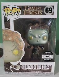 Children Of The Forest Metallic Funko Got S8 Hbo Nycc Exclusive