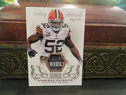 National Treasures Century Materials Jersey Browns D'Qwell Jackson 11  2013