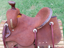 14 Spur Saddlery Youth Ranch Roping Saddle Made In Texas