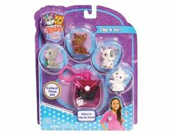 2016 Series Kitty In My Pocket Kitties with Clip On Pouch - Colors and Models wi