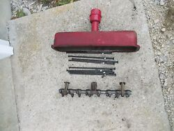 Farmall B Bn C A Tractor Ih Motor Engine Rocker Arm Assembly Push Rods And Cover