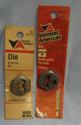 Machinist Tools Vermont American Made In The Usa 5/16-18nc