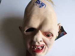 Richard Donner Signed Official Sloth Mask Dc/coa Goonies Proof Rare