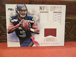 National Treasures Rookie Nfl Gear Jersey Russell Wilson 31/49 2012