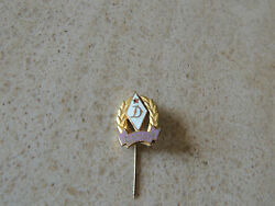 1960' Ujpest Dozsa - Metal Badge Stick Pin fitting great pin from one the best