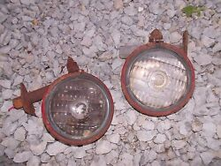 Farmall Cub 300 350 400 Sm Tractor Ih Ihc Front Light And Rear Utility Mount Post