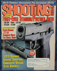Magazine Shooting Times Apr 2000 Winchester Model 94ae Trails End .44-40 Carbine