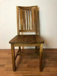 Dining Chair Wu Made Of Solid Teak Wood