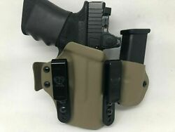 Us Made Premium New Concealment Express Iwb Kydex Carry Appendix Sidecar Holster
