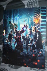 Jeremy Renner Signed 11x14 Inch Photo Dc/coa The Avengers