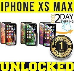 Iphone Xs Max 64gb┇256gb Factory Unlocked Space Gray┇silver┇gold ❖sealed❖w