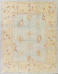Vegetable Dye Top Quality 10x13 Wool Oriental Collectable Oushak Rug 13'5 x 10'6