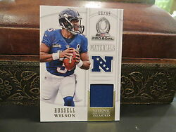 National Treasures Pro Bowl Materials Jersey Seahawks Russell Wilson 66/99 2013