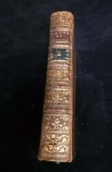 Book Prone's Ou Instructions Familieres Jean Denis Cochin 1786 Vol.2 Leatherbd.