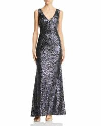 Laundry by Shelli Segal Embroidered Sequin Gown MSRP $298 Size 6 # 3A 630 NEW