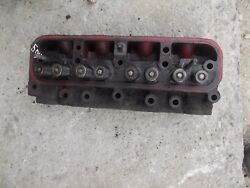 Farmall Ih 504 Tractor Main Gas Engine Motor Cylinder Head And Valves