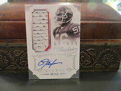 Panini Flawless Autograph Jersey Greats Giants Auto Lawrence Taylor 08/25 2014