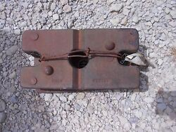 Farmall Ih John Deere Jd Case Ford Tractor Front Small Slab Pad Weight Weights