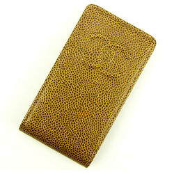 Iphon Case Coco Bronze Woman Authentic Used Y5216