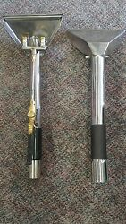 Stainless Steel Dual Jet Carpet Cleaning Stair Tool New Quantity 2