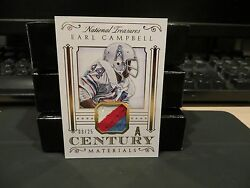 National Treasures Century Materials Jersey Oilers Earl Campbell 03/25 2015