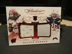 Panini Flawless Rookie Ruby Jersey Wisconsin Chargers Melvin Gordon 04/15 2015