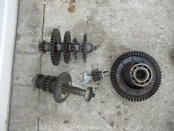39 Farmall A Tractor Ih Transmission Matched Set Top Bottom Gears Shafts Reverse