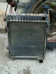 International 1066 Tractor Ihc Good Working Engine Motor Radiator Assembly And Cap