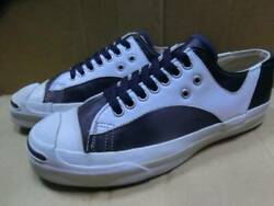 Vintage 1990and039s Converse Jack Purcell Sneakers Dark Navy White Us 7 25.5cm Rare