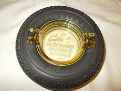 Vintage Firestone Tire Ashtray No Chips Or Cracks Tire Is Soft And Mint