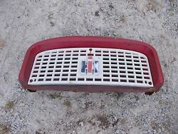 Farmall Ih 560 460 Tractor Front Nose Cone Grill Bonnet And Screen And Ih Emblem