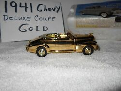 1941 Chevy Convertible Gold Plated