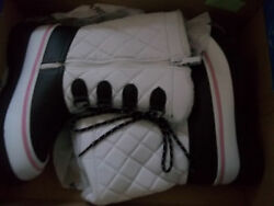 Totes White waterproof Winter boots Size 3 Med New no box $25.00