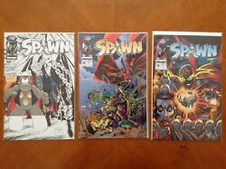 Spawn 1992 10, 11 And 13 Comic Books Image, 1992