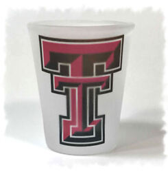 Texas Tech University Red Raiders Frosted Shot Glass