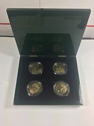 2017 Masters Arnold Palmer Limited Coin Set 734/750 Augusta National Golf