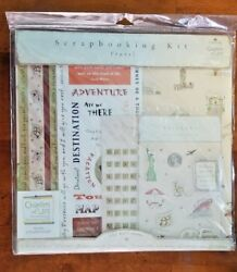 Dayspring Chapters Of Life Travel Scrapbooking Kit 12x12 Road Trip Adventure