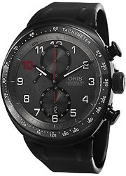 Darryl O Young Limited Edition Grey Dial Black Rubber Men's Watch 774-7611-7784