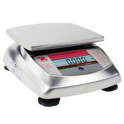 Ohaus V31xh402 Valor 3000 Compact Food Scale Cap 400g Read 0.01g