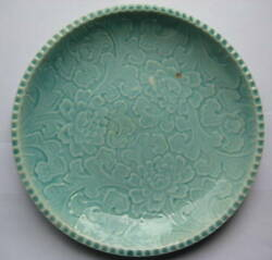 Chinese Sung Dynasty Green Glazed Plate